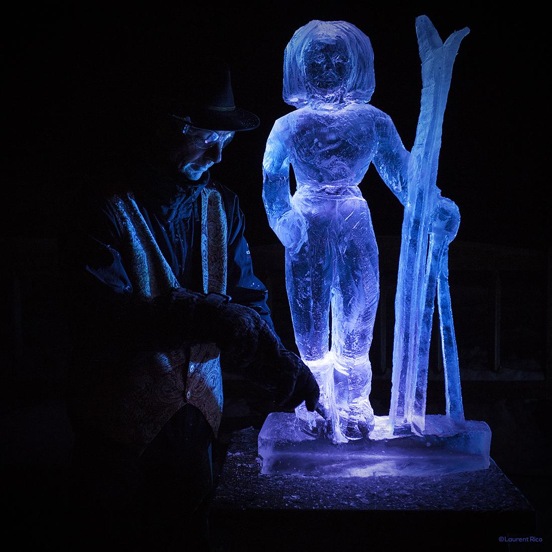 laurent rico-entreprise-creations- realisations-productions audiovisuelles-photographe-savoie-sculpture sur glace-christian burger-artiste-neige