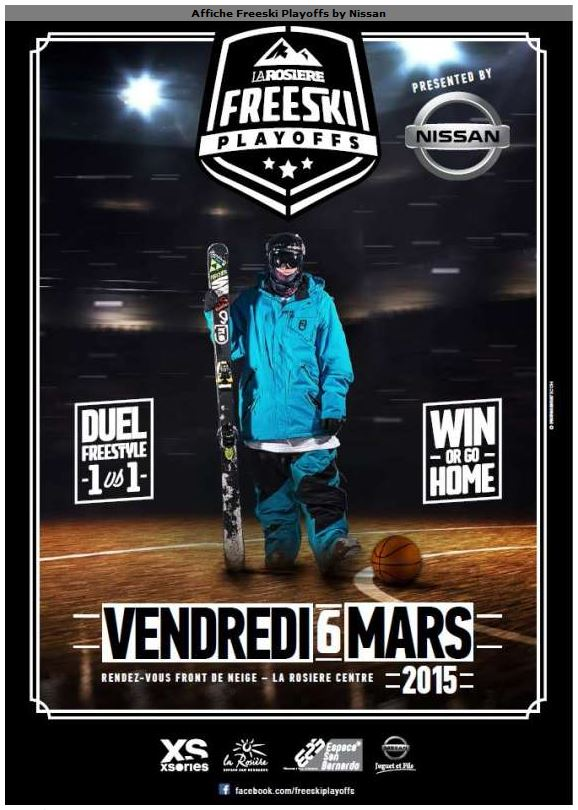Affiche Freeski Playoffs